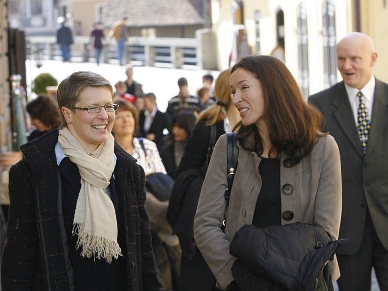 Chotě ministrů zahraničních věcí zemí Evropské unie v sobotu poznávali Český Krumlov. Nejprve v doprovodu starosty Luboše Jedličky a místostarostky Jitky Zikmundové.