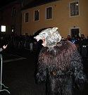 Krampus show v Kaplici 2016.
