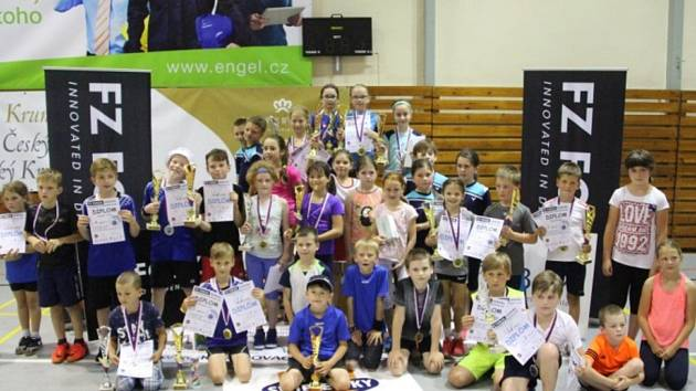 Krumlovský SKB stále patří v práci s mládeží k nejlepším klubům v republice.