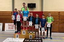 V Českém Krumlově se prosadili favorité. Hrál se turnaj v badmintonu.