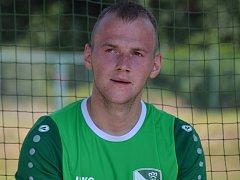 Tomáš Tauber prolomil dosavadní střelecké prokletí a při šlágru v Olešníku zařídil vítěznou trefu Slavoje.