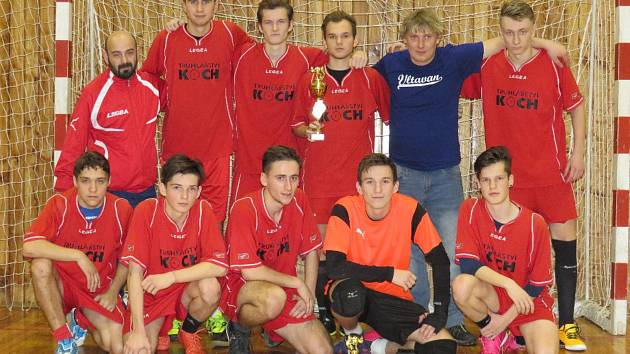 Nejúspěšnějším zástupcem Českokrumlovska při 5. ročníku Sunar pneuservis Cupu se nakonec stali celkově stříbrní dorostenci SK Větřní (na snímku).