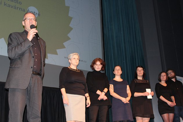 Slavnostní zahájení Mezinárodního festivalu dokumentárních filmů Jeden svět v Českém Krumlově.