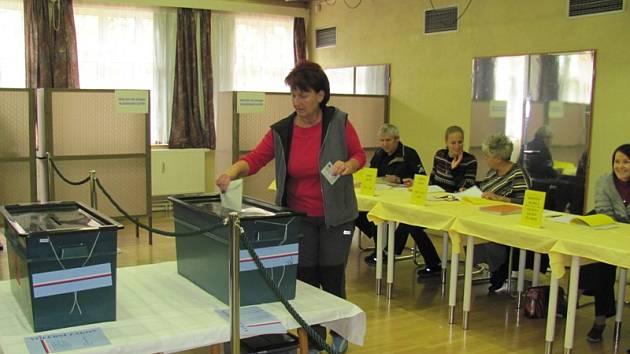 Volby v Horní Plané.