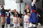 Na Svatováclavských slavnostech zatančil také soubor z Řecka.