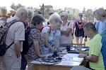 Sportovní hry seniorů ovládly atletický stadion v Kaplici. Senioři sportovali s nadšením.