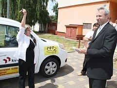 Pečovatelská služba dostane nové auto. Ilustrační foto.