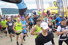 Horský půlmaraton Kilpi Trail Running Cup v Lipně nad Vltavou.