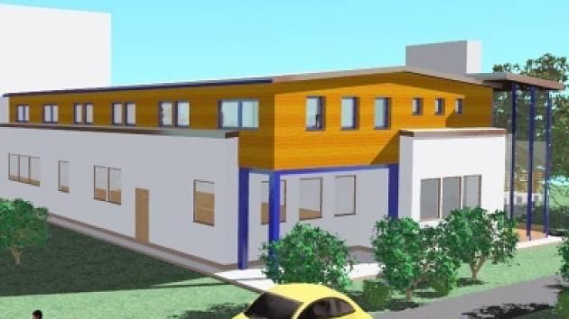 Plánovaná nástavba by měla celý objekt školky oživit. Nebude se ale jednat o nic složitého.