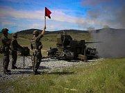 Cvičení, které dnes končí v boletickém vojenském prostoru.
