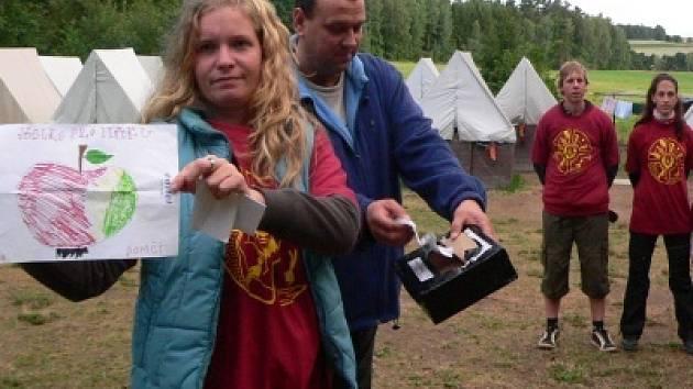 V besednickém táboře funguje i pošta.