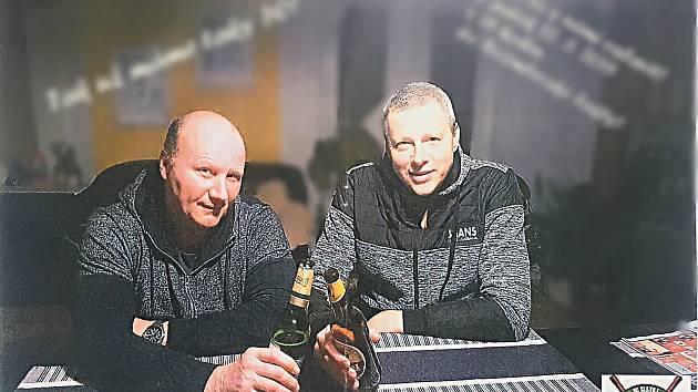 Čerství padesátníci Ota Píša a Luboš Prokeš (zleva).
