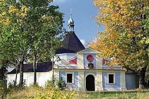 Kaple na Křížové hoře v Českém Krumlově.