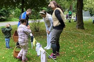 Dětský den se spoustou atraktivních stanovišť si užily děti všeho věku v neděli v Českém Krumlově.