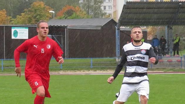 Fotbalisté Kaplice se ve Čtyřech Dvorech rozešli s domácím týmem smírně 2:2.