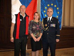 Šéf krumlovských vodních záchranářů dostal medaili za zásluhy