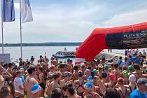 Nejlepší čeští dálkoví plavci se sjeli do Dolní Vltavice na Lipno.