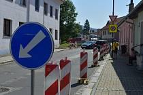 Práce omezí provoz ulicí v období od 15. července do konce září.