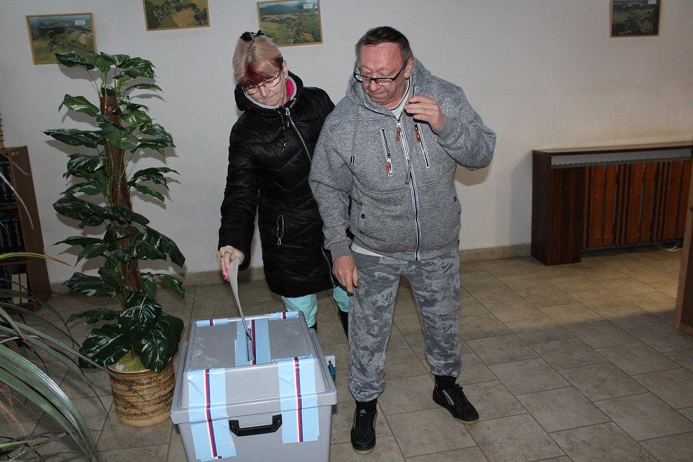 Volby v Benešově nad Černou.