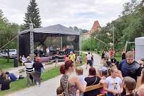 Druhou sobotu tento víkend pokračovaly v Českém Krumlově Zahradní slavnosti.