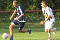 Příprava: FK Spartak Kaplice B (bíločerné dresy) – FK Dolní Dvořiště 4:6 (0:5).