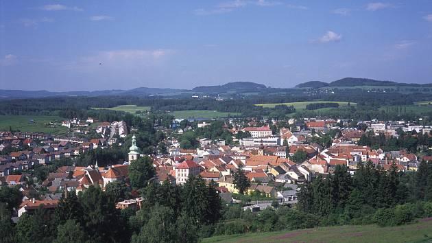 Město Kaplice. Ilustrační foto.