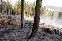 Hasičům se podařilo požár lokalizovat poměrně brzy.