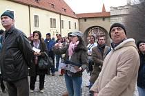Pro latinsko-americké turisty byla návštěva Českého Krumlova nezapomenutelným zážitkem.