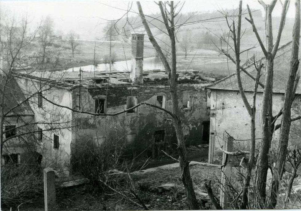 Frymburk v roce 1957.