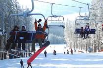 Fun Lipno Tour se koná v sobotu v lipenském ski areálu.