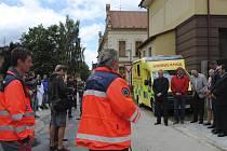 V Horní Plané otevřeli stanoviště záchranky.