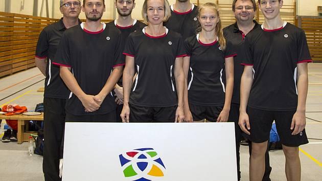 Extraligový tým SKB Český Krumlov z uplynulé nedohrané sezony.