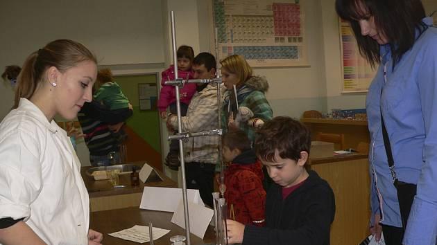 Den pro rodiče a děti v ZŠ Školní v Kaplici.