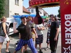 Velešínská pouť se koná tradičně na konci letních prázdnin.