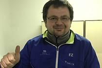 Předseda a šéftrenér českokrumlovského SK Badminton Radek Votava.