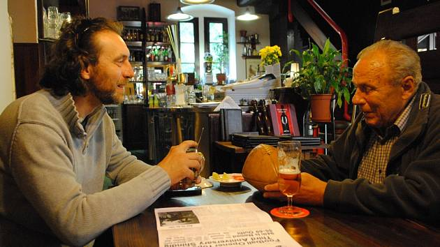 Marek Šimon (vlevo) s Janem Pilsem.