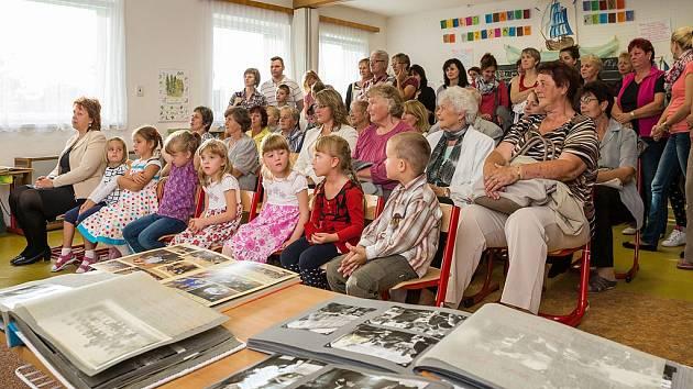 Oslava výročí 50 let Základní a mateřské školy v Dolním Třeboníně.