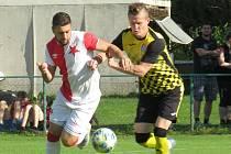 Fotbalisté Kaplice v závěrečném kole turnaje sedmi týmů prohráli na půdě budějovické Slavie 0:4.