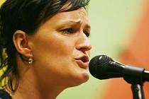 Nejoblíbenější zpěvačka regionu - Hana Havlíčková.