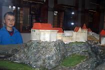 V muzeu hradu Pořešín.