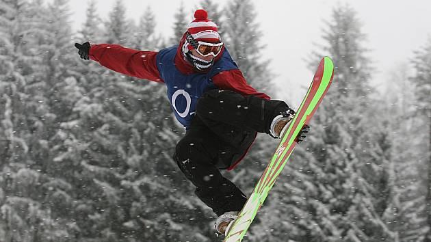 Český pohár snowboardistů 2009 a Rookie Cupu 2009 v Lipně nad Vltavou.