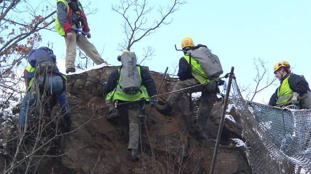 Havraní skálu horolezci již opustí.