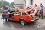 O život přišel řidič vozu značky VAZ přímo v Kaplici.