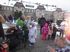 Slavnostní zahájení adventu v Loučovicích.