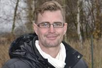 Trenér kaplického béčka Michal Rybák.