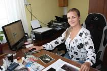 Andrea Novotná Maurencová, majitelka Pohřební služby Maurenc v Kaplici.
