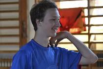Křemežský mladík Petr Beran byl nejlepším českým hráčem na MMČR juniorů v prestižní dvouhře.