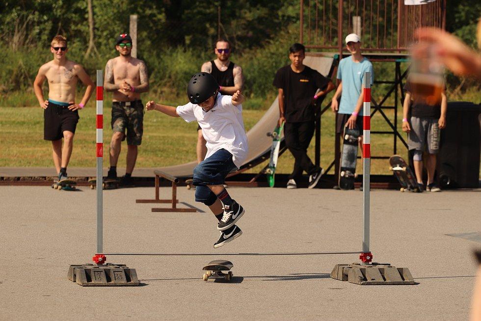 Nejmladší účastník Spanilé jízdy - Matyáš