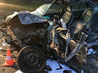 Smrtelná dopravní nehoda se stala u Kaplice kolem šesté hodiny ráno.