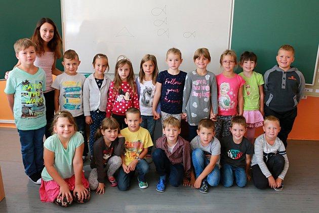 Představujeme prvňáky ze Základní školy Velešín. -1.B
